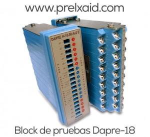 block de pruebas Dapre 12
